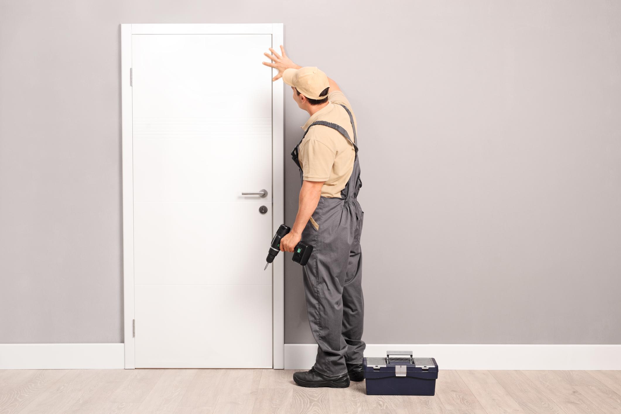 Replacing a door