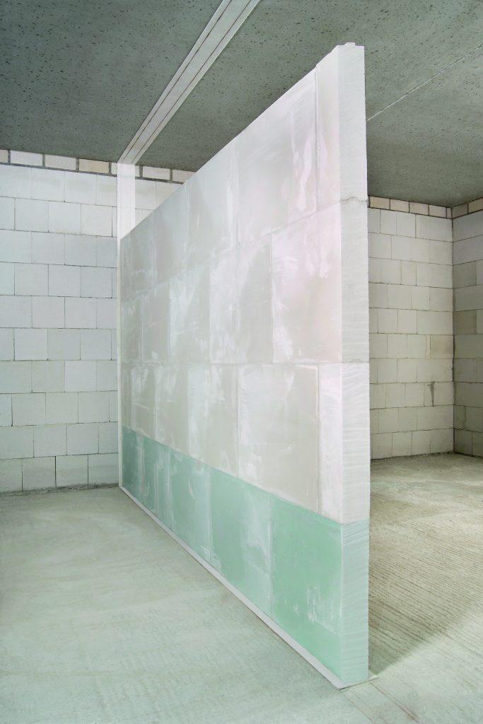 Prepare a gypsum wall